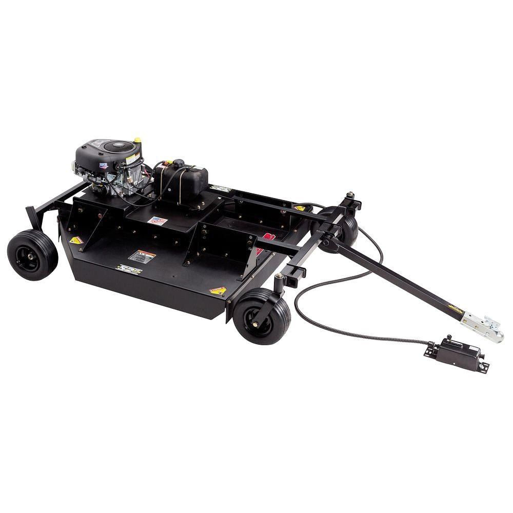 Swisher 52 in. 17.5-HP Briggs & Stratton Electric Start Rough Cut Trail Commercial Tow Behind Mower
