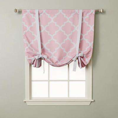 Moroccan 42 in. W X 63 in. L Drapery Panel in Pink