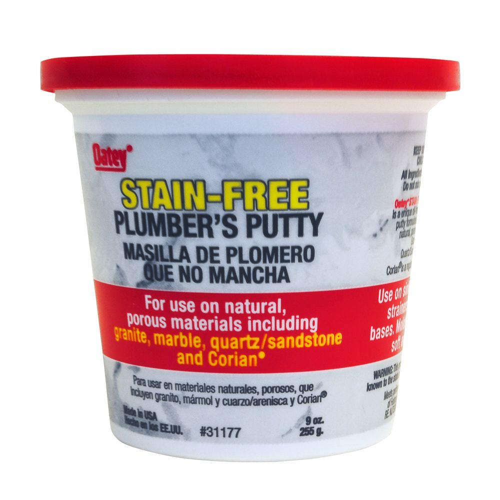 Oatey 9 oz. Stain-Free Plumber\'s Putty-31177 - The Home Depot