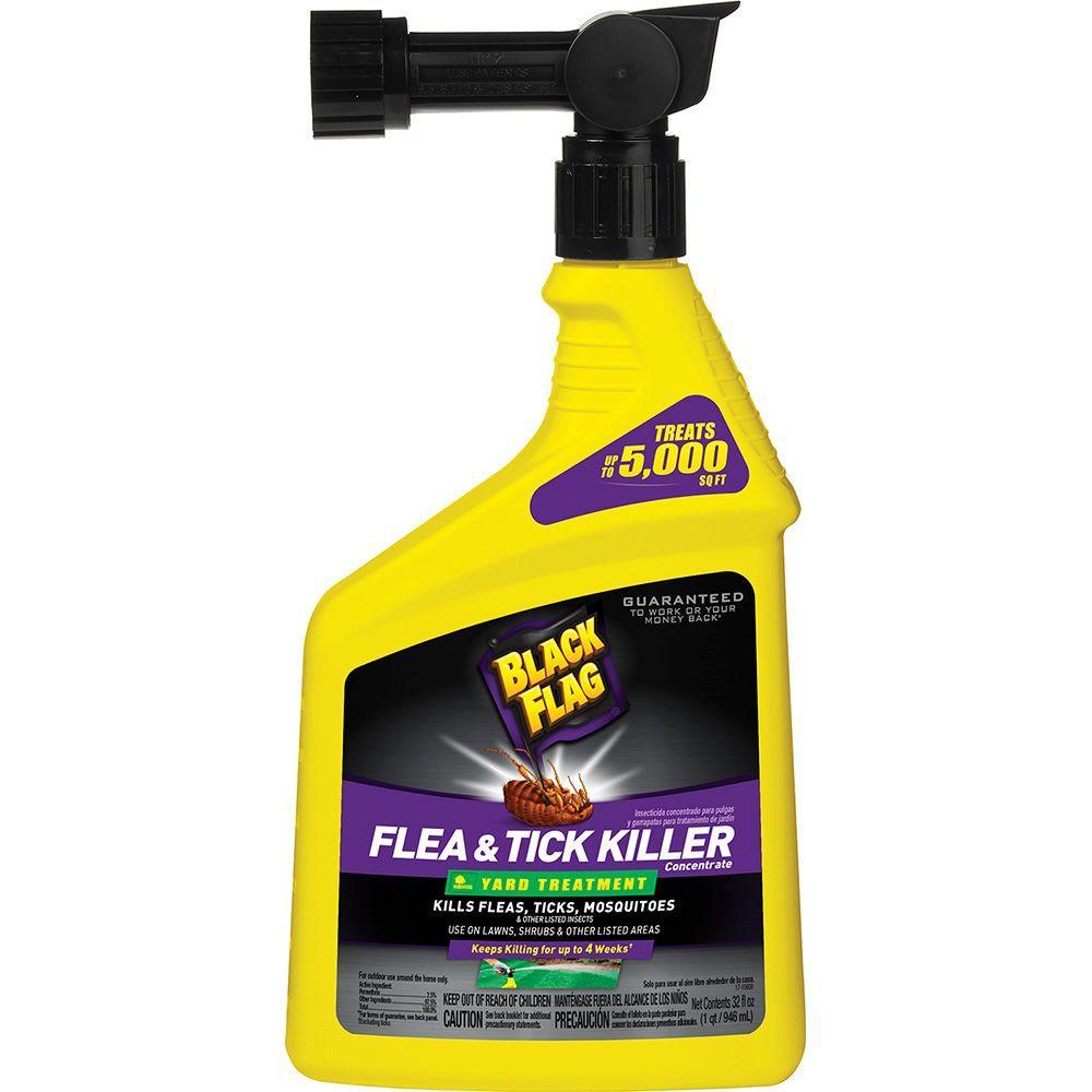 Flea killer for yard