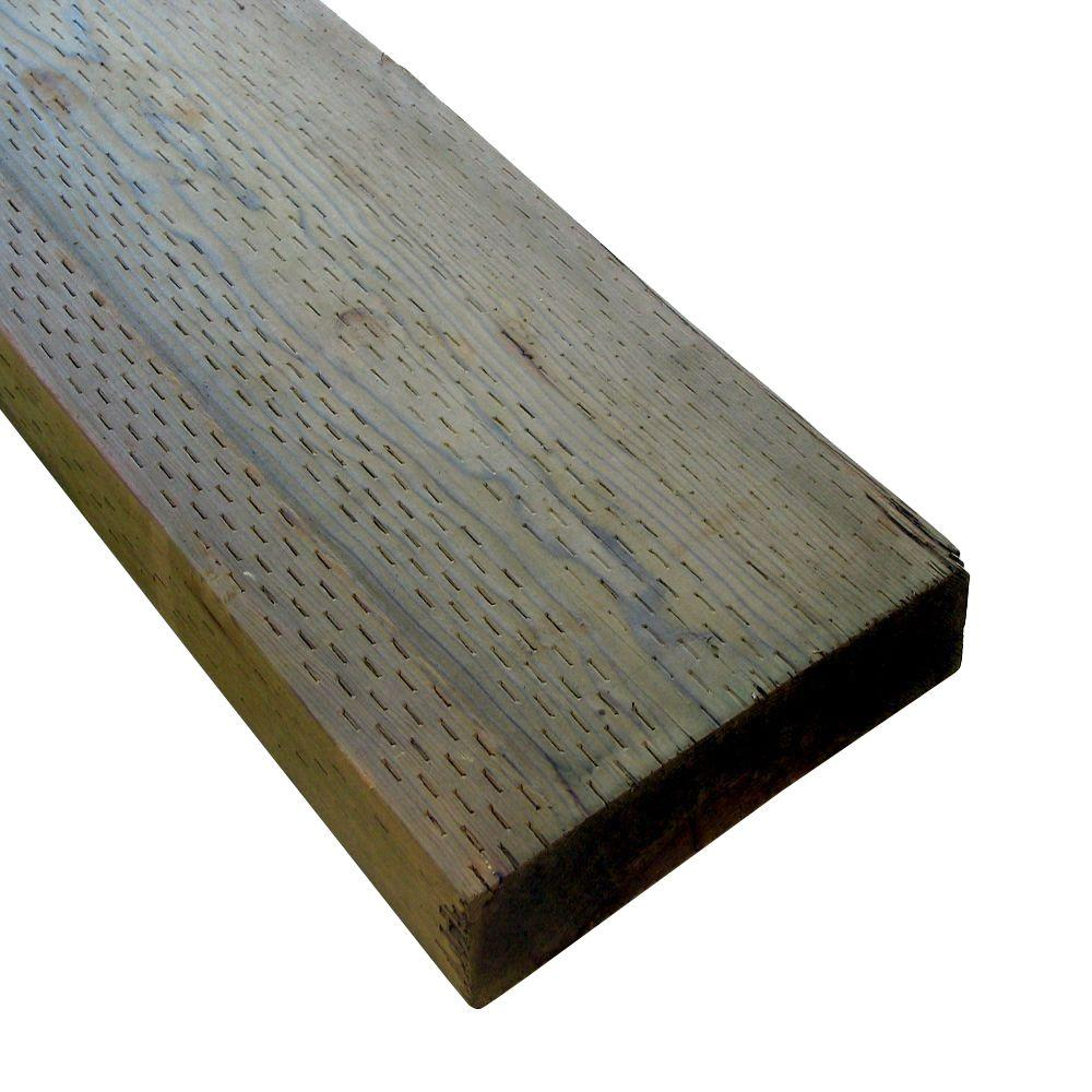 1 in. x 2 in. x 8 ft. Pressure-Treated Board