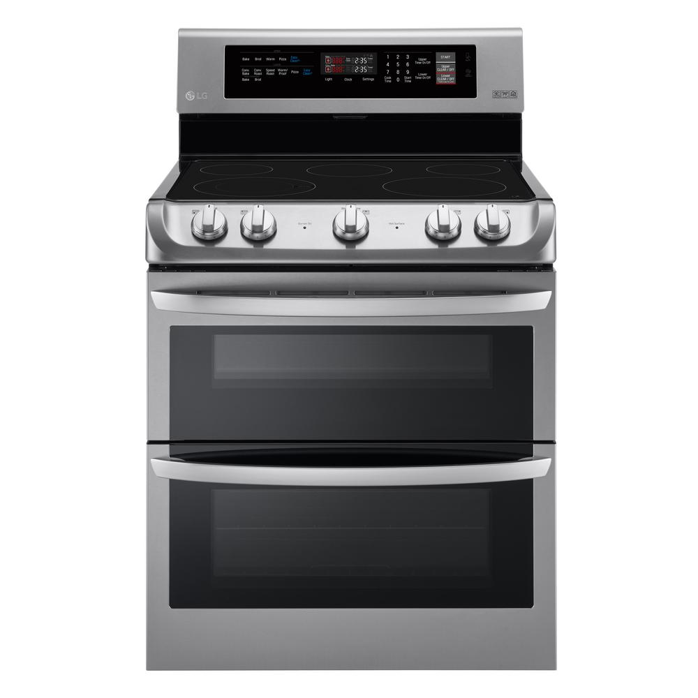 French Door french door range photographs : Double Oven Electric Ranges - Electric Ranges - The Home Depot