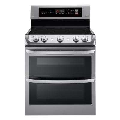 7.3 cu. ft. Double Oven Electric Range with ProBake Convection Oven and EasyClean in Stainless Steel