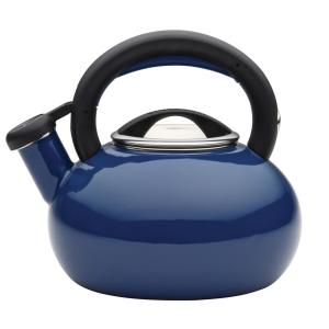 Click here to buy Circulon 6-Cup Navy Blue Sunrise Teakettle by Circulon.