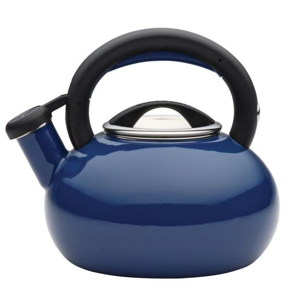 Circulon 6-Cup Navy Blue Sunrise Teakettle