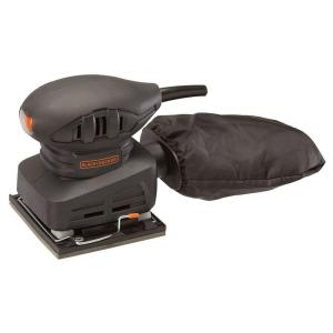 Click here to buy Black & Decker 1/4 Sheet 1.5 Amp Corded Sander by BLACK+DECKER.