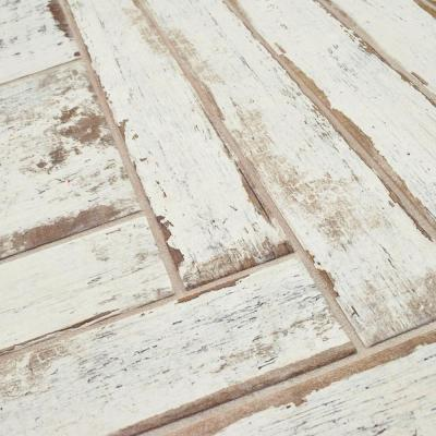 Retro Blanc 2-3/4 in. x 23-1/2 in. Porcelain Floor and Wall Tile (11.88 sq. ft. / case)