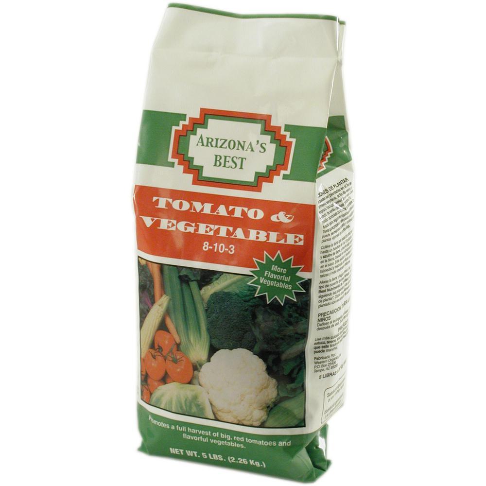 5 lb. 8-10-3 Tomato and Vegetable Food