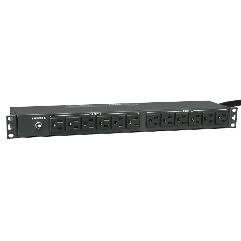PDU Basic 120-Volt / 30-Amp 5-15R 24-Outlet L5-30P Horizontal 1URM