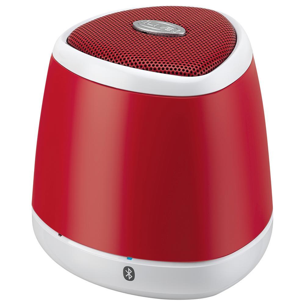 ILIVE Portable Bluetooth Wireless Speaker, Red
