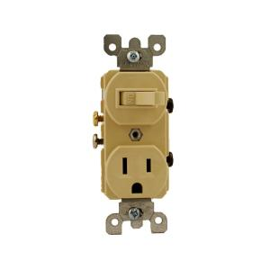 ivory leviton electrical outlets receptacles 5225 i 64_300 leviton 15 amp commercial grade combination single pole toggle