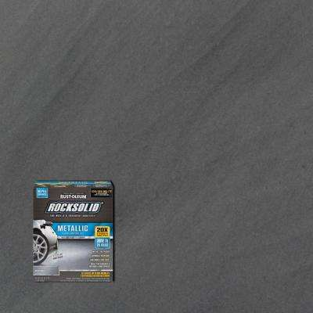 70 oz. Metallic Silver Bullet Garage Floor Kit (2-Pack)