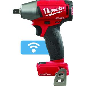 Milwaukee M18 FUEL with ONE-KEY 18-Volt Lithium-Ion Brushless 1/2 inch Cordless Impact Wrench Pin Detent  (Tool-Only) by Milwaukee