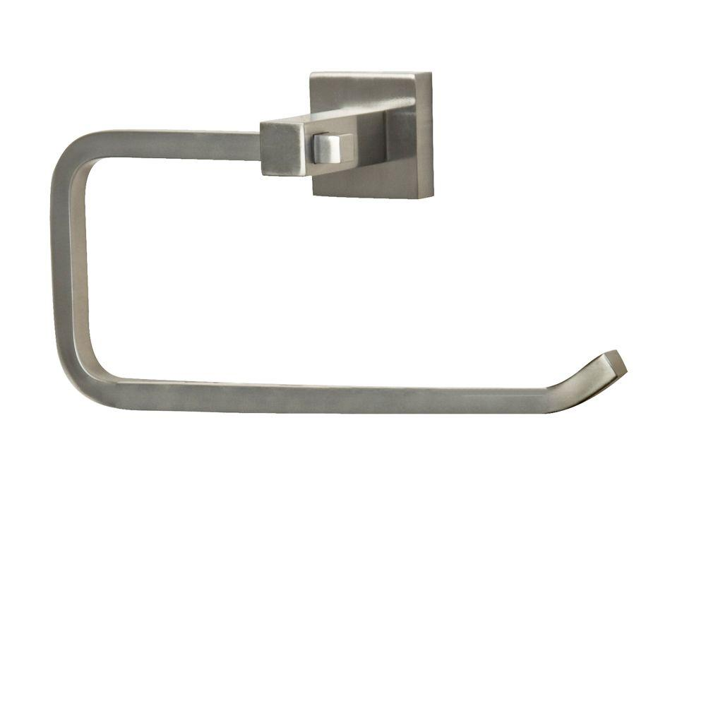 Barclay Products Jordyn Towel Ring in Brushed Nickel