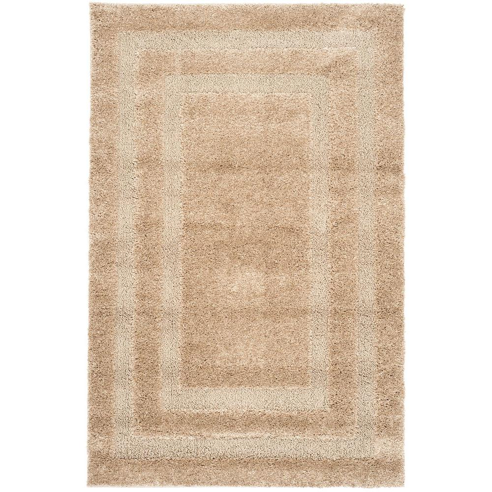 Florida Shag Beige 2 ft. 3 in. x 4 ft. Area