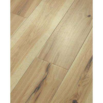 Take Home Sample  Grand Central Hickory Natural Water Resist Engineered Hardwood Flooring  7 in. x 8 in.