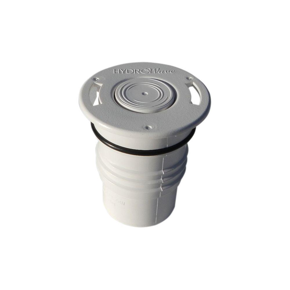HW4 Hi-Flow Caretaker 99 Threaded White In-Floor Pool Pop Up Head