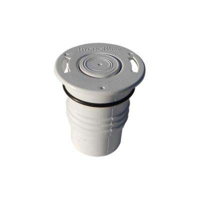 HW4 Hi-Flow Caretaker 99 Threaded White In-Floor Pool Pop Up Head Replacement