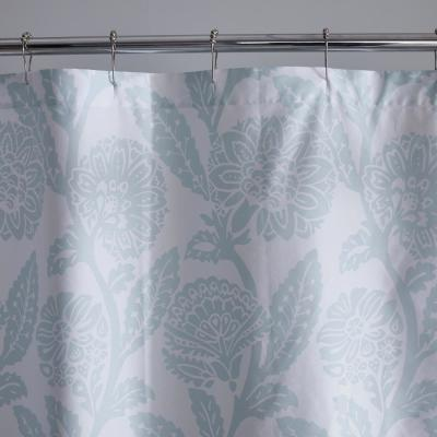 Legends Hotel Sateen Stencil Damask Shower Curtain