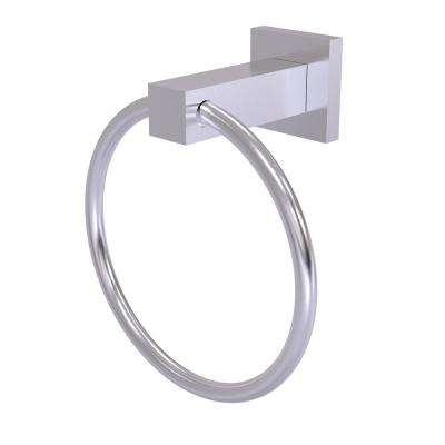 Montero Collection Towel Ring in Satin Chrome