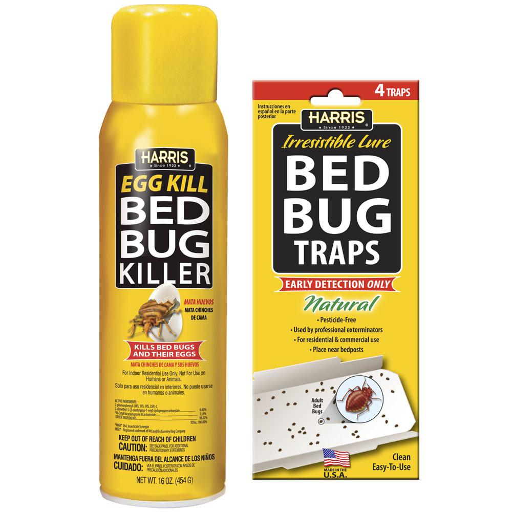 Harris 16 Oz Egg Kill And Bed Bug Trap Value Pack Egg 16vp The