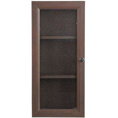 Delridge 13 in. W x 30 in. H x 6 in. D Bathroom Storage Wall Cabinet in Flagstone