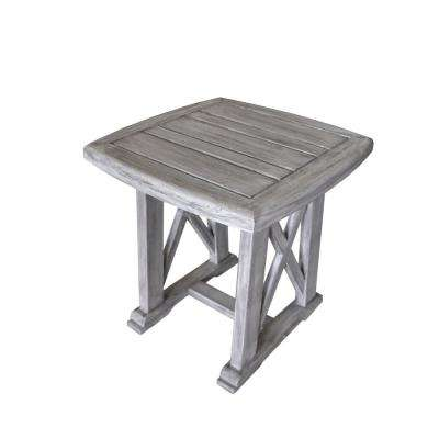 Surf Side Collection Teak Outdoor Side Table