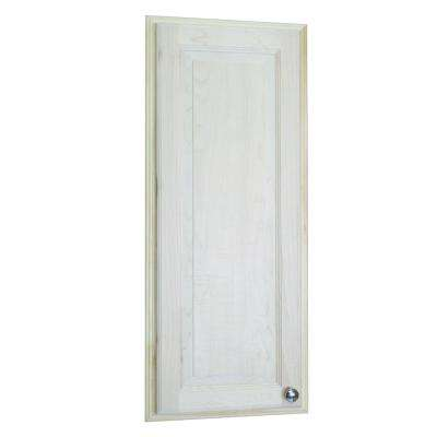 Napa Valley 37.5 in H x 15.5 in. W x 3.5 in. D Recessed Medicine Cabinet