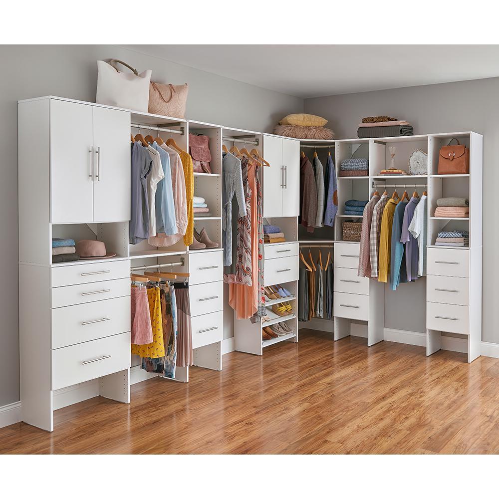 Closetmaid Style+ Wood Closet System