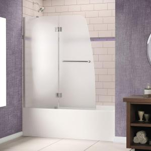 semiframed pivot tubshower door - Tub Shower Doors