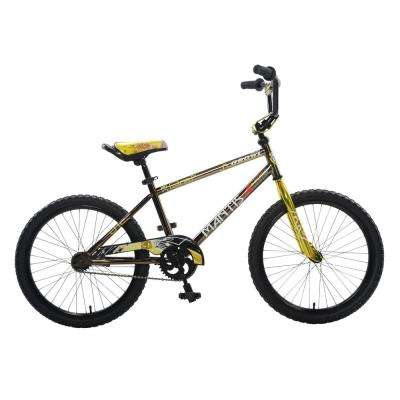 Growl Black Ready2Roll 20 in. Kids Bicycle