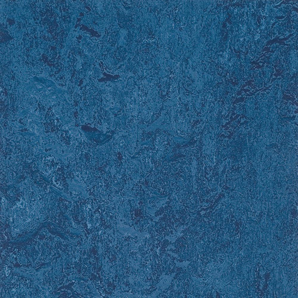 Marmoleum Blue 9.8 mm Thick x 11.81 in. Wide x 11.81 in. Length Laminate Flooring (6.78 sq. ft. / case)