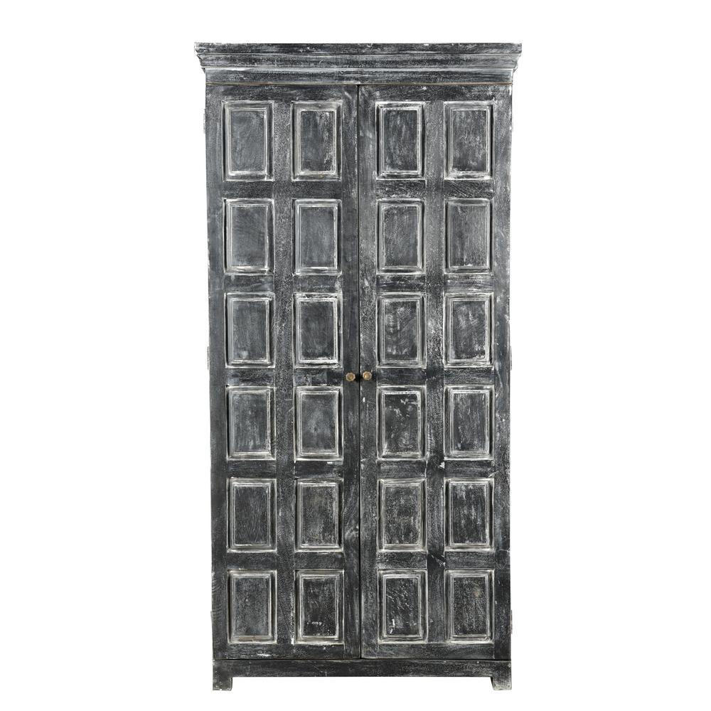 Dalton Weathered Grey Cabinet