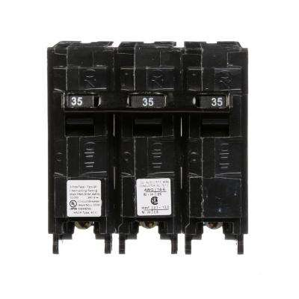 35 Amp Three-Pole Type QP Circuit Breaker