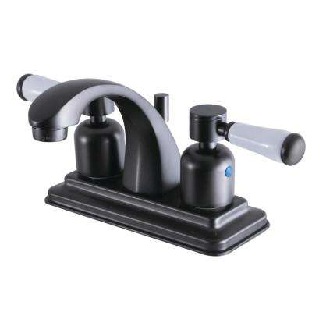 Paris 4 in. Centerset 2-Handle Bathroom Faucet in Oil Rubbed Bronze