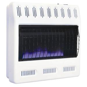 Williams 30,000 BTU/hr Blue Flame Heater Propane Gas Heater with Automatic Thermostat by Williams