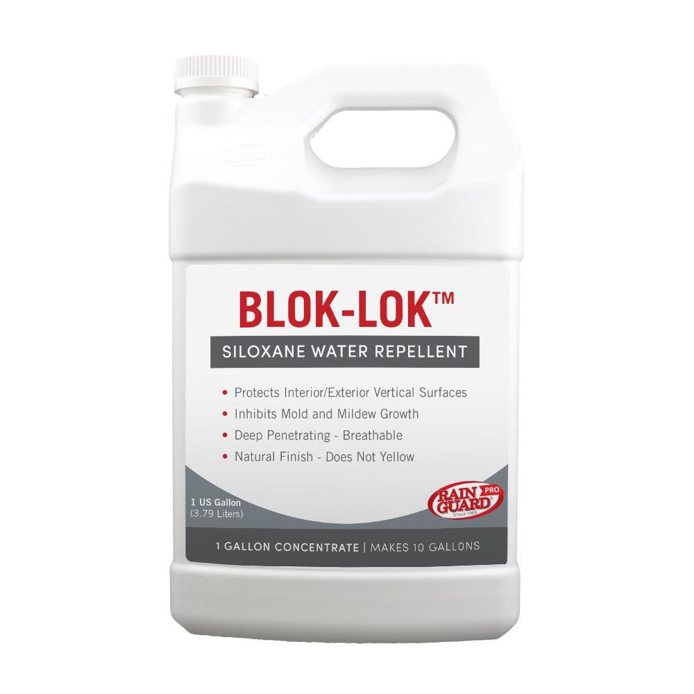 Blok-Lok 1 gal. Concentrate Penetrating Clear Water-Based Repellent Sealer Value Pack (Case of 4)
