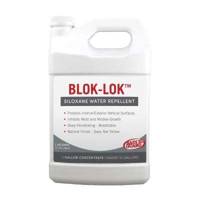 Blok-Lok 1 gal. Concentrate Penetrating Clear Water-Based Repellent Sealer Value Pack (Case of 4)