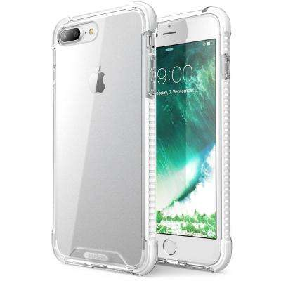 i-Blason-iPhone 7 Plus Case-Shockproof Protective Case-White