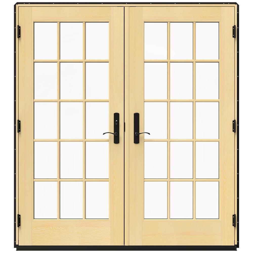 RightHandInswing Patio Doors Exterior Doors The Home Depot
