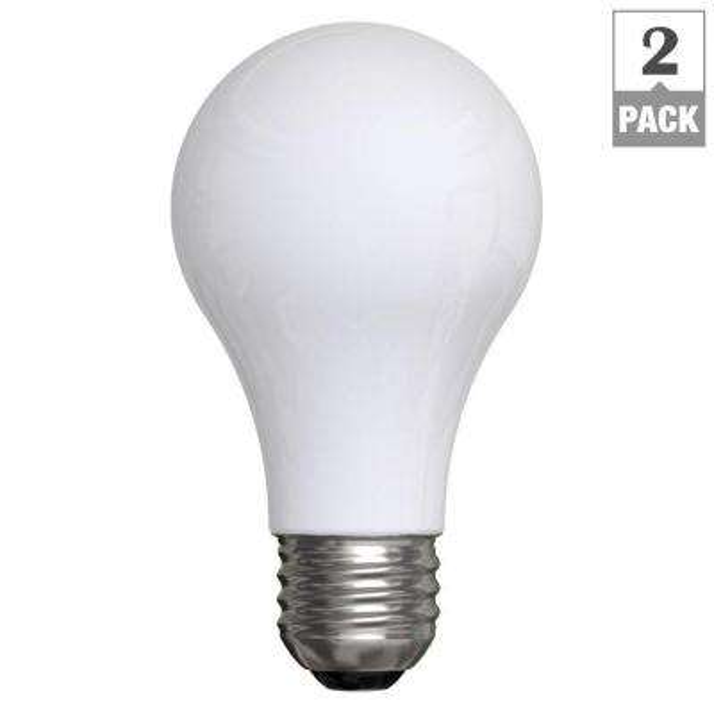 30-70-100-Watt Incandescent A21 3-Way Soft White Light Bulb (2-Pack)