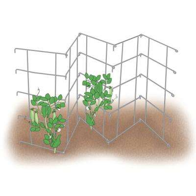 8 ft. Pea Fence Growing Support (2 per Pack)