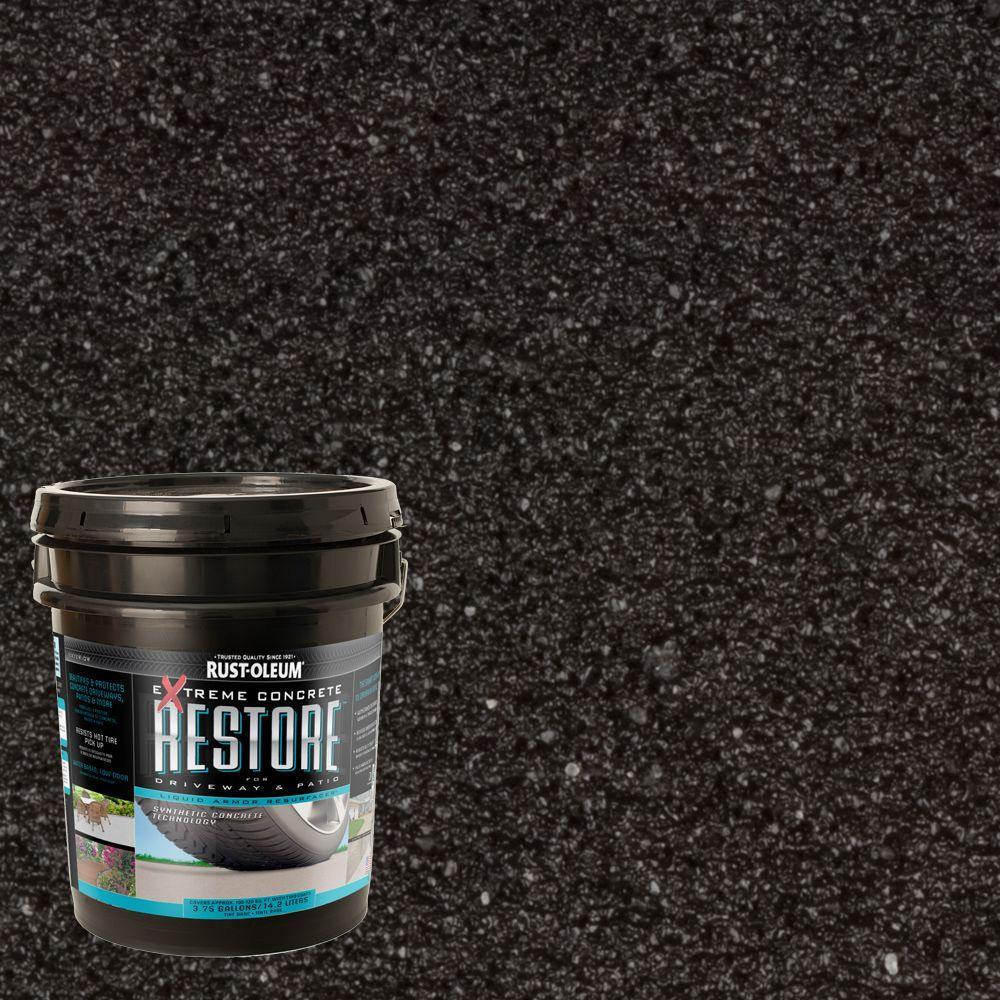 Rust-Oleum Restore 4 -gal. Black Waterproofing Liquid Armor Resurfacer