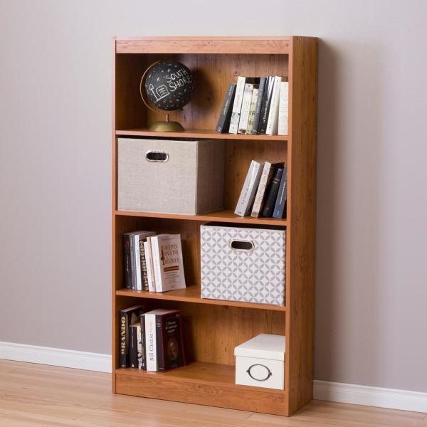South Shore Axess Country Pine Open Bookcase