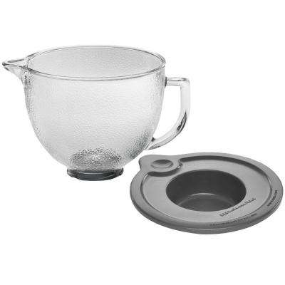 5 Qt. Hammered Glass Bowl for Tilt-Head Stand Mixers