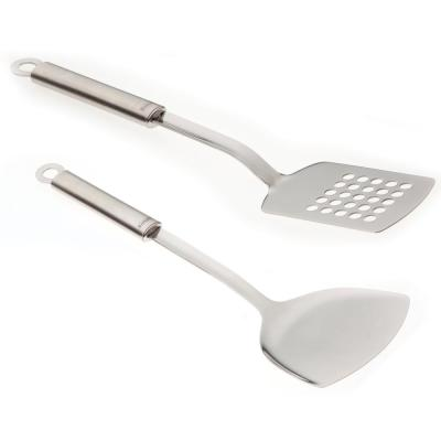 Duet Stainless Steel Turner and Chinese Turner (Set of 2)