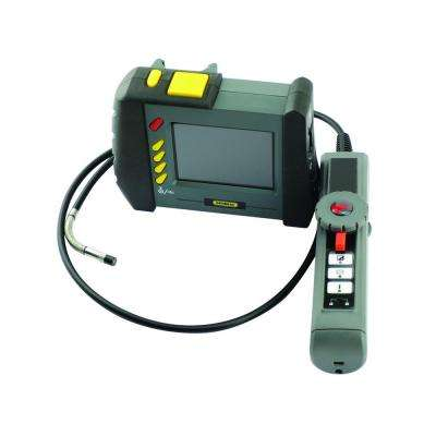 Wireless Video Inspection Camera with 3.5 in. LCD Display and Waterproof High-Performance Articulating Probe