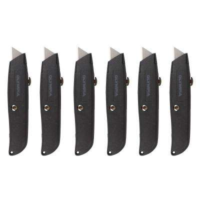Retractable Utility Knife Set (6-Piece)