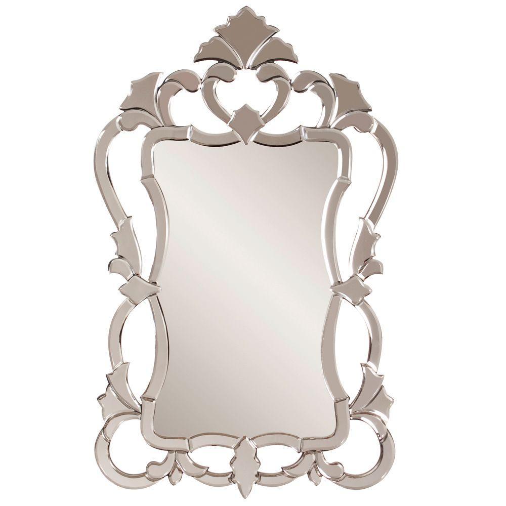 43 in. x 26 in. Venetian Framed Mirror