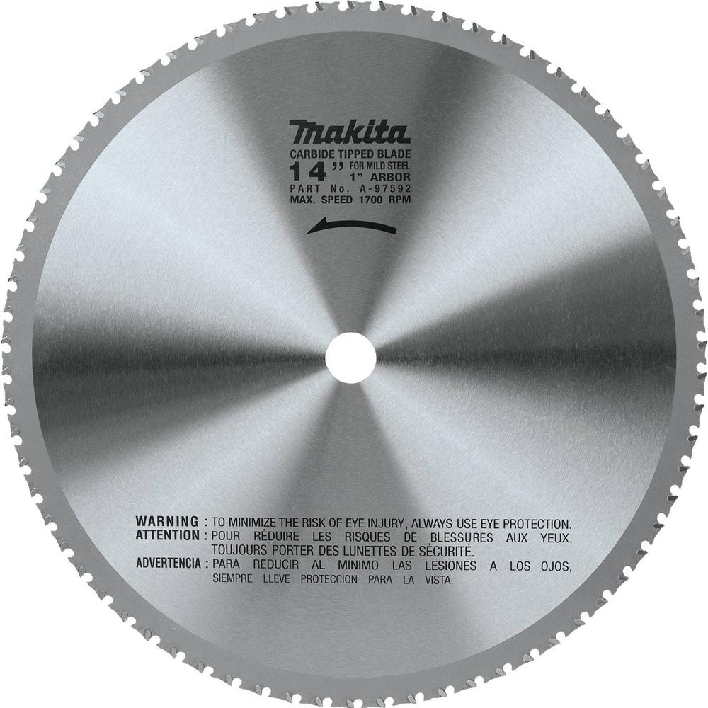 Saw Blade Fan : Makita in t carbide tipped metal cutting blade